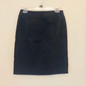 Express Grey Size 3/4 Stretch Skirt H10